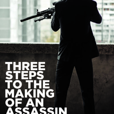 cover of jack cashman's three steps to the making of an assassin